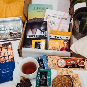 Box de livre Québec juin