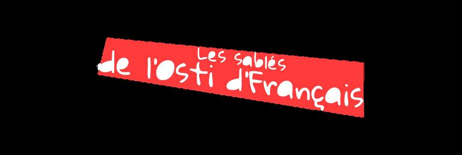 Les sablés de l'osti de Français